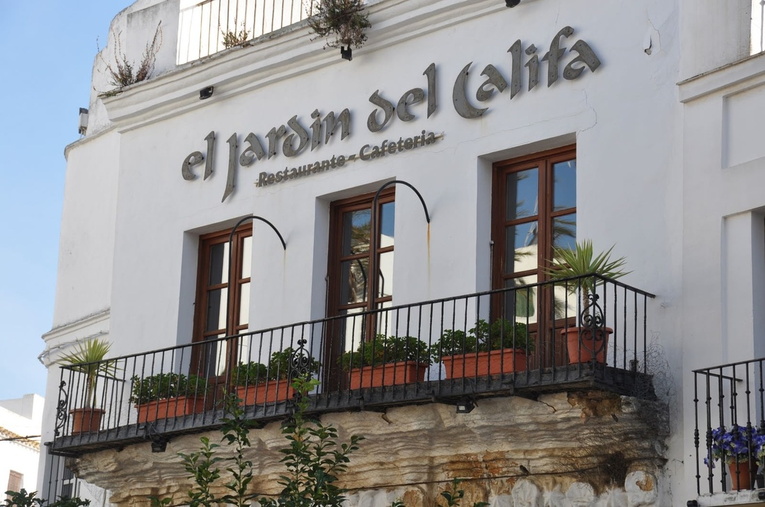 Top class restaurants and eateries in vejer and cadiz for El jardin del califa precios